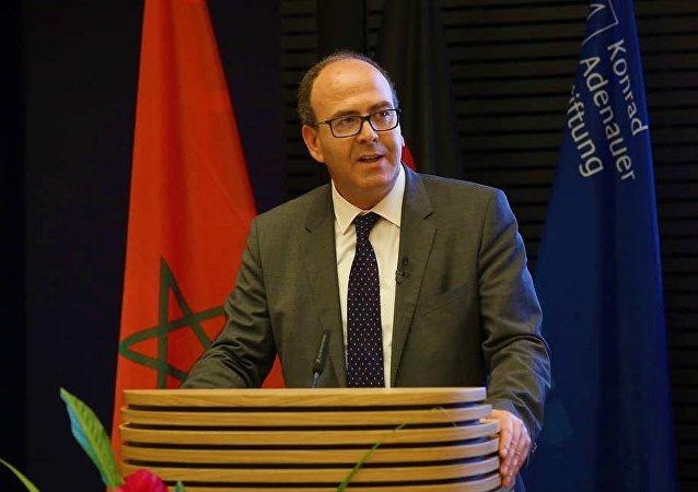 حكيم بنشماش رئيس البرلمان المغربي