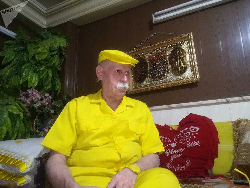 الكاركتر الحلبي الأشهر...الرجل الأصفر من براثن الإرهاب إلى غينيس