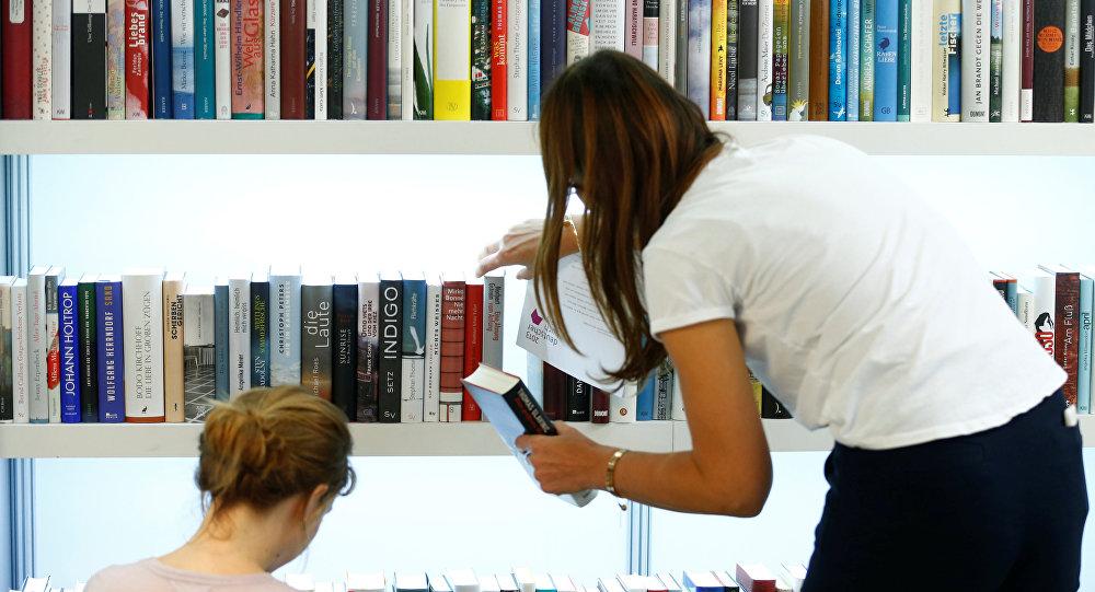 معرض للكتب في فرانكفورت
