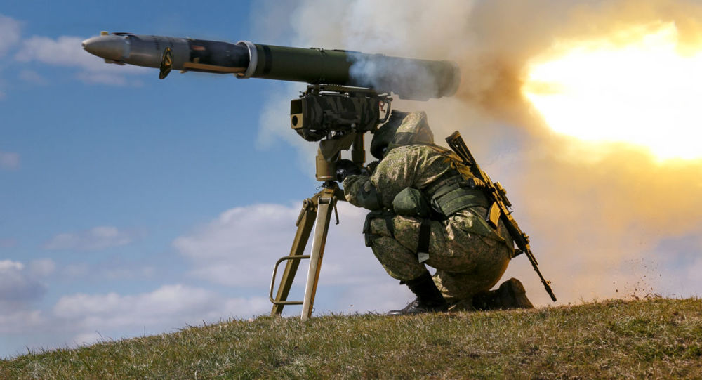 قاذف صواريخ كورنيت المضادة للدروع