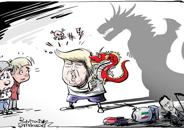 ترامب يصف لماذا الصين أخطر من روسيا