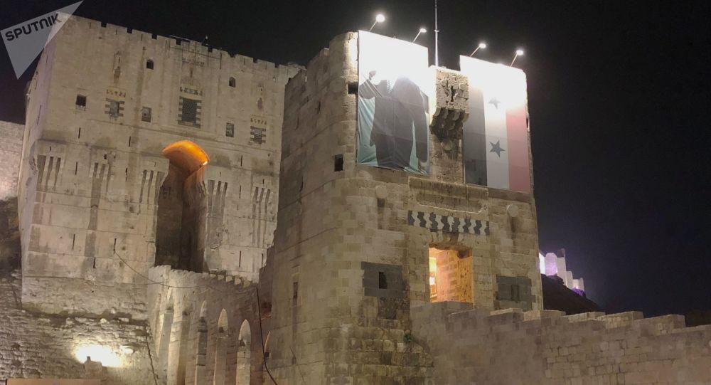 الحياة الليلية في مدينة حلب