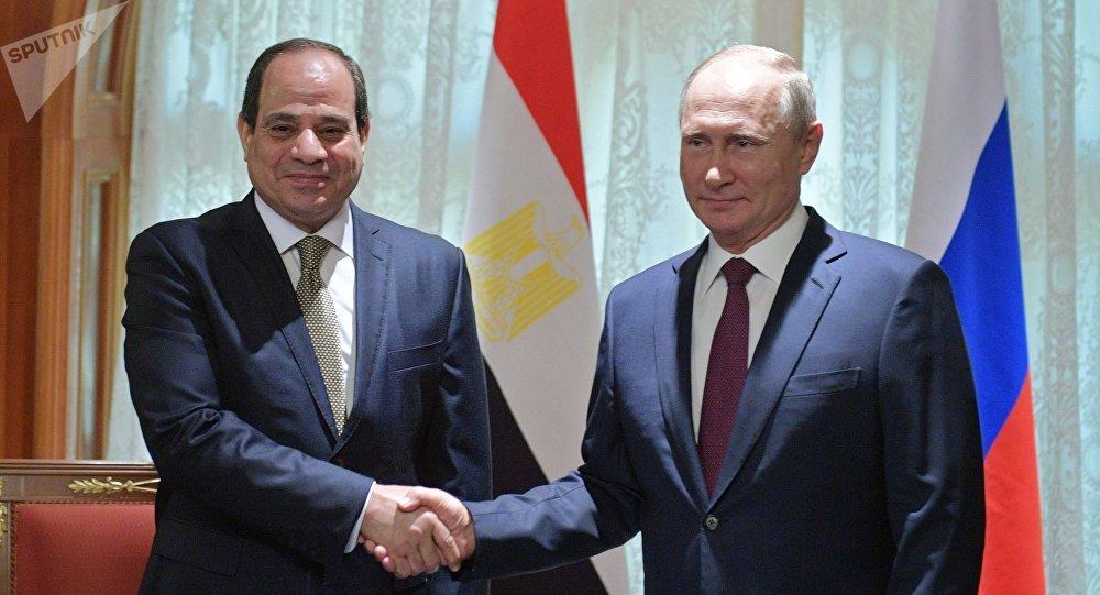 الرئيس الروسي فلاديمير بوتين يلتقي مع نظيره المصري عبدالفتاح السيسي في سوتشي، 17 أكتوبر/ تشرين الأول 2018