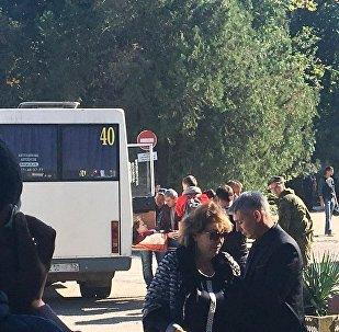 حادثة اطلاق نار وانفجار في معهد في مدينة كيرتش الروسية