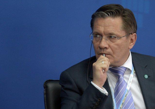 رئيس شركة روس أتوم الحكومية الروسية، أليكسي ليخاتشيوف