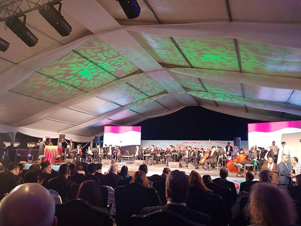 منتدى السلام العالمي في سانت كاترين في مصر، 18 أكتوبر/تشرين الأول