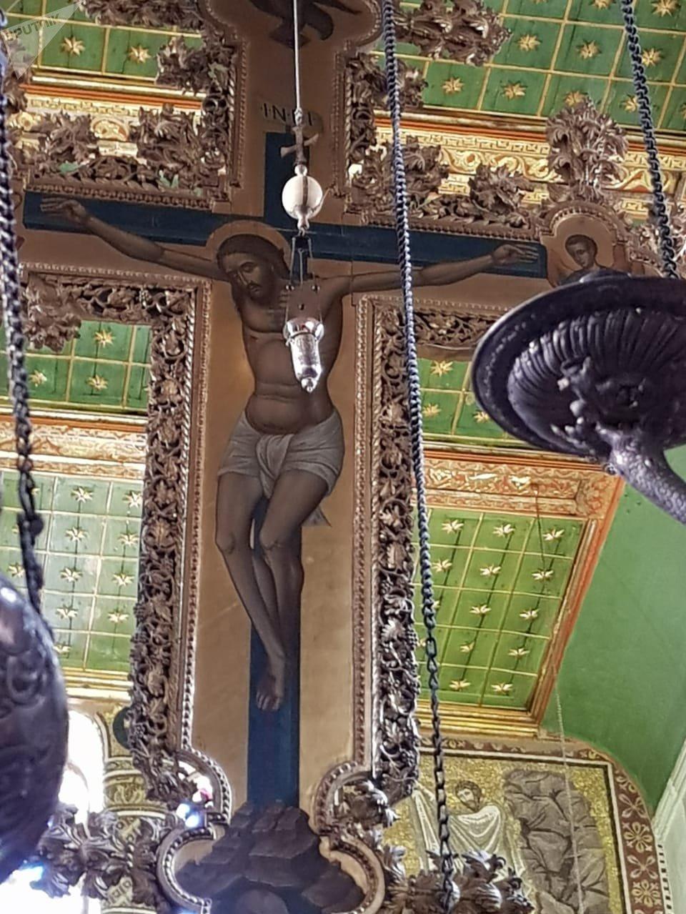 صورة لوحة المسيح بدير سانت كاترين
