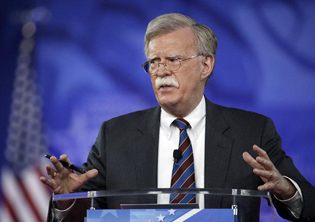 مستشار الرئيس الأميركي لشؤون الأمن القومي، جون بولتون
