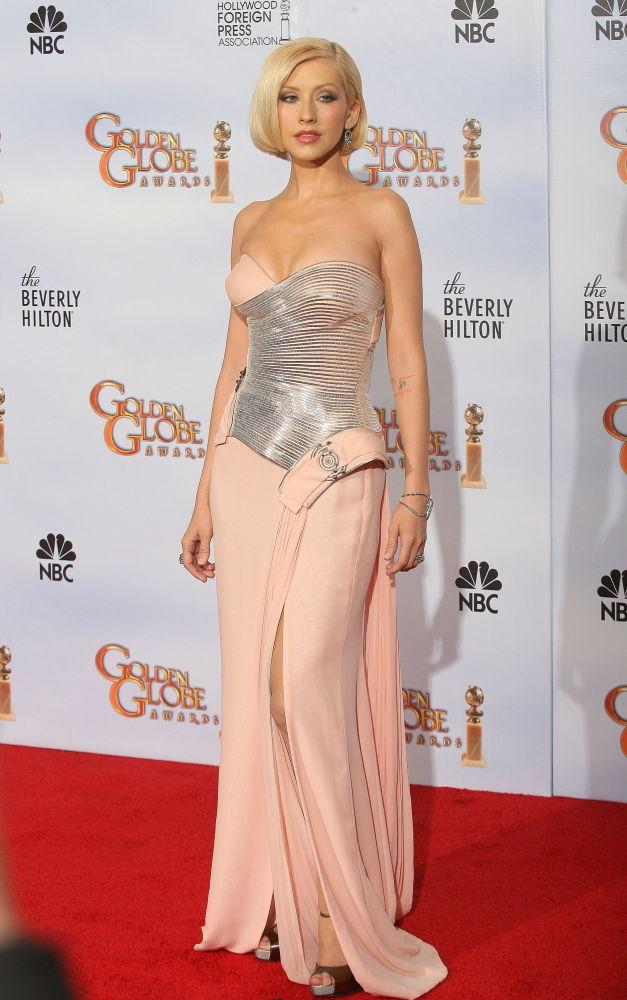 المغنية الأمريكية كريستينا أغيليرا