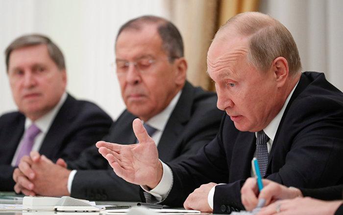 لافروف يكشف عن اتفاق بين بوتين ونتنياهو بشأن سوريا