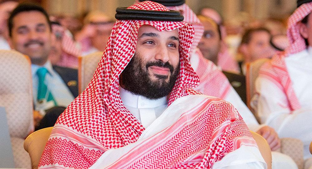 العاهل السعودي محمد بن سلمان في مؤتمر مبادرة الاستثمار المستقبلي في الرياض، 23 أكتوبر/ تشرين الأول 2018