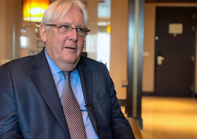 المبعوث الأممي إلى اليمن مارتن غريفيث، 4 أكتوبر/ تشرين الأول 2018