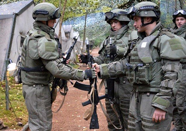 القوات البيلاروسية
