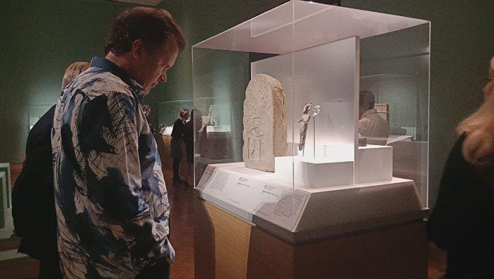 آثار مصرية في مدينة مينا بوليس الأمريكية