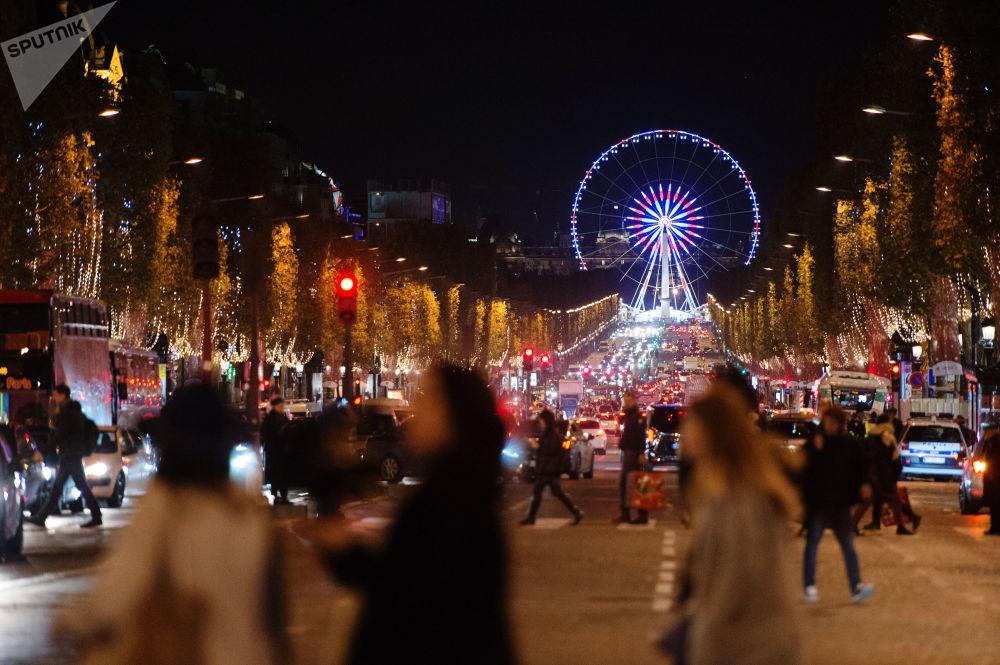 شوارع مدينة باريس، فرنسا
