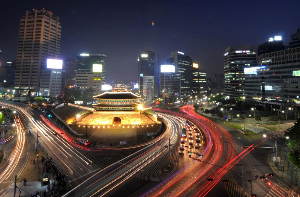 شوارع مدينة سئول، كوريا الجنوبية