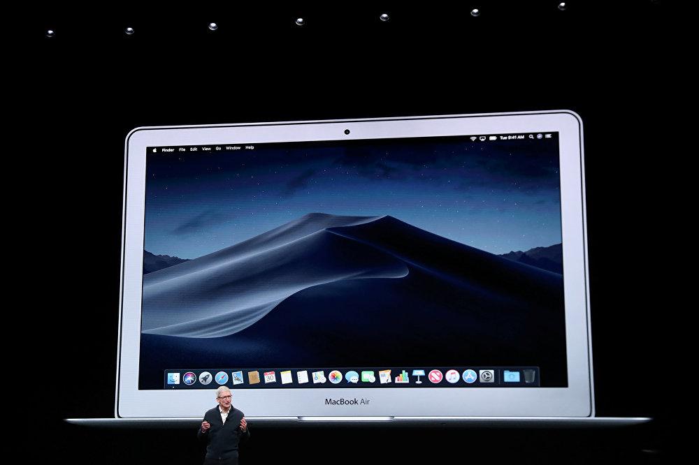 رئيس أبل تيم كوك يتحدث عن كمبيوتر ماك بوك إير الجديد، 30 أكتوبر/تشرين الأول 2018