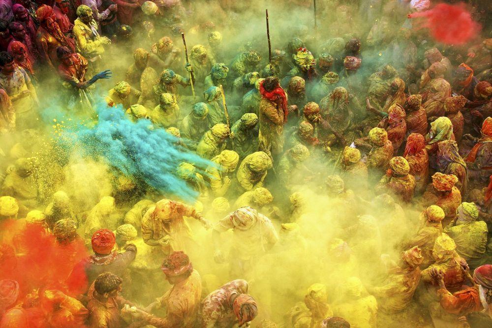 صورة بعنوان Game of Colors، للمصور أنوراغ كومار، الحاصل على المرتبة الثانية في فئة إثارة الألوان