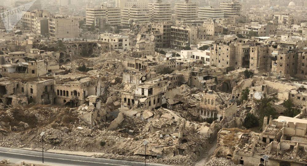 الدمار والركام في مدينة حلب