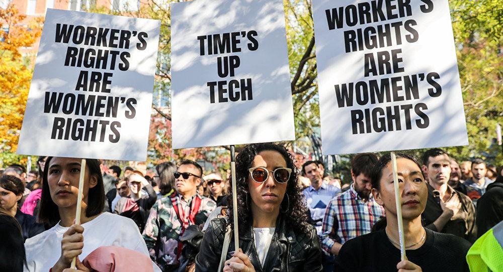 احتجاجات غوغل