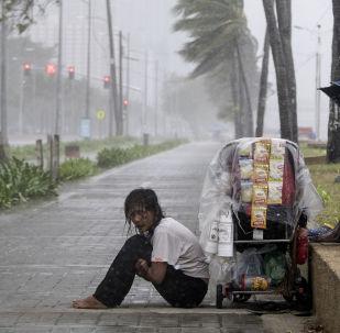 إعصار يوتو في مانيلا، الفلبين 30 أكتوبر/ تشرين الأول 2018