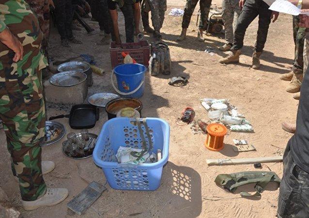 القوات العراقية تعتقل إرهابيين وتدمر مخططاتهم