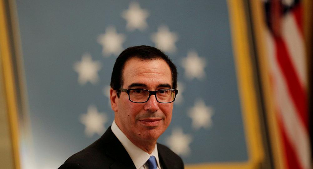 وزير الخزانة الامريكية ستيف منوشن