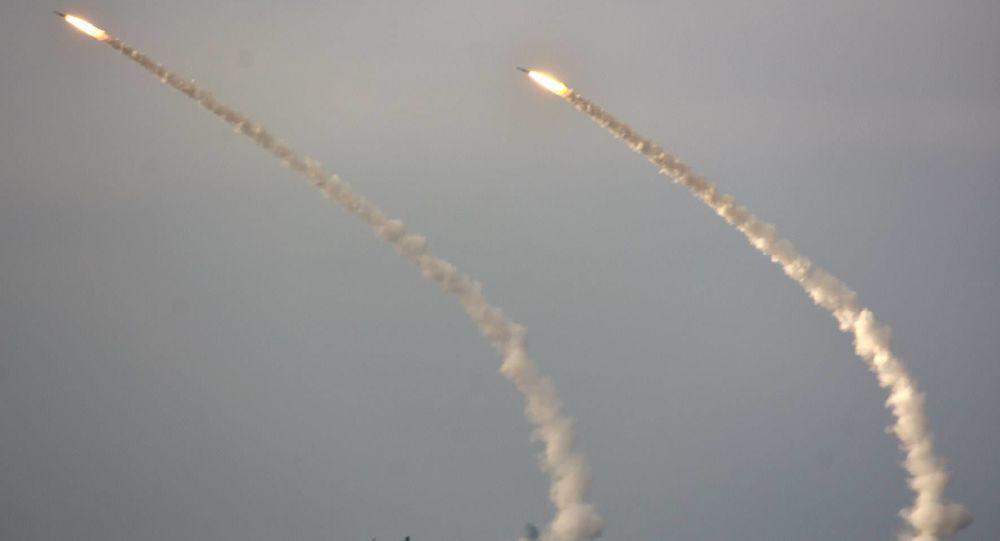 مناورات صاروخية في أوكرانيا