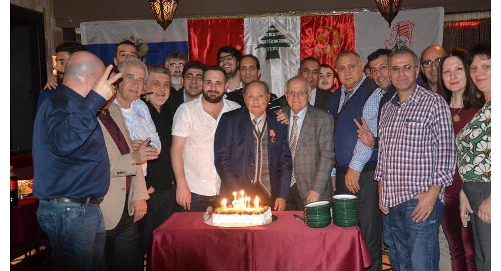 احتفال للشيوعي اللبناني في موسكو