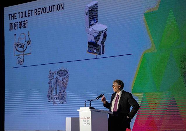 بيل غيتس يتحدث عن ثورة المراحيض