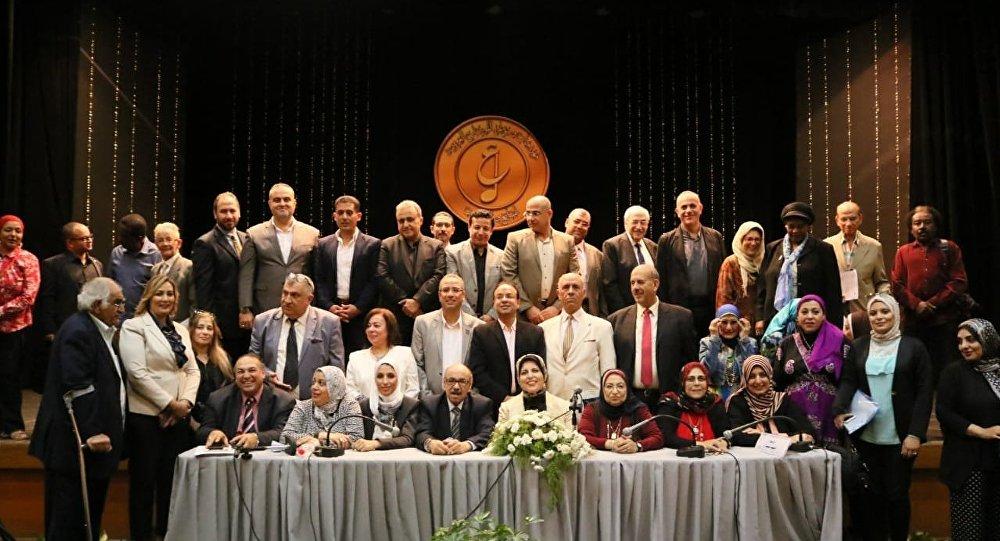 ختام مؤتمر مهرجان  الموسيقى العربية الـ٢٧ المقام في القاهرة، 9 نوفمبر/تشرين الثاني 2018