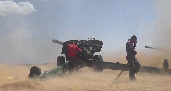 الجيش السوري يصد هجوم لـ أجناد القوقاز في إدلب