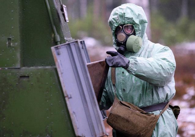 قوات الحماية من الأسلحة الإشعاعية