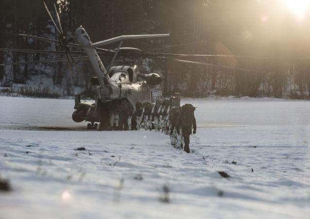مناورات الناتو في النرويج