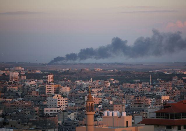 تداعيات قصف الطيران الإسرائيلي لمواقع في قطاع غزة، 12-13 نوفمبر/ تشرين الثاني 2018