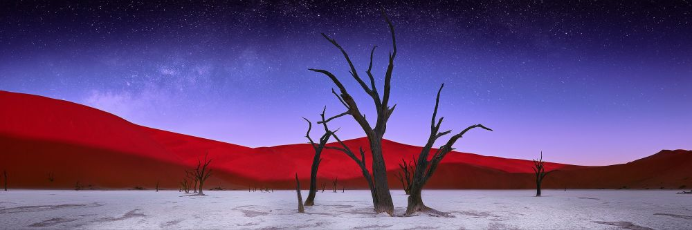 صورة بعنوان مطلع الليل، للمصور ألكسندر فيرشينين، مرشحة لقائمة توب-50 في فئة المناظر الطبيعية المفتوحة