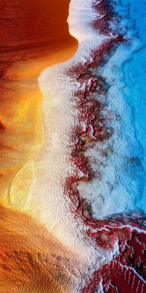 صورة بعنوان حورية البحر، للمصور سانتوش ميترا، مرشحة لقائمة توب-50 في فئة هواة المناظر الطبيعية
