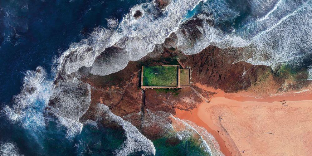 صورة بعنوان بركة المحيط، للمصور تشادرا بونغ، مرشحة لقائمة توب-50 في فئة هواة بيئة البناء