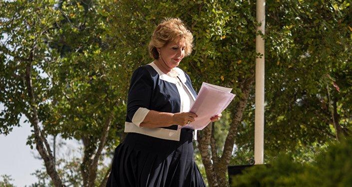 وزيرة الاندماج الإسرائيلية صوفا لاندفر