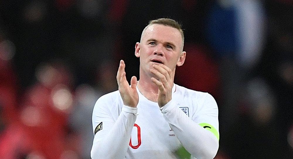 وين روني فر مباراته اعتزاله مع منتخب إنجلترا