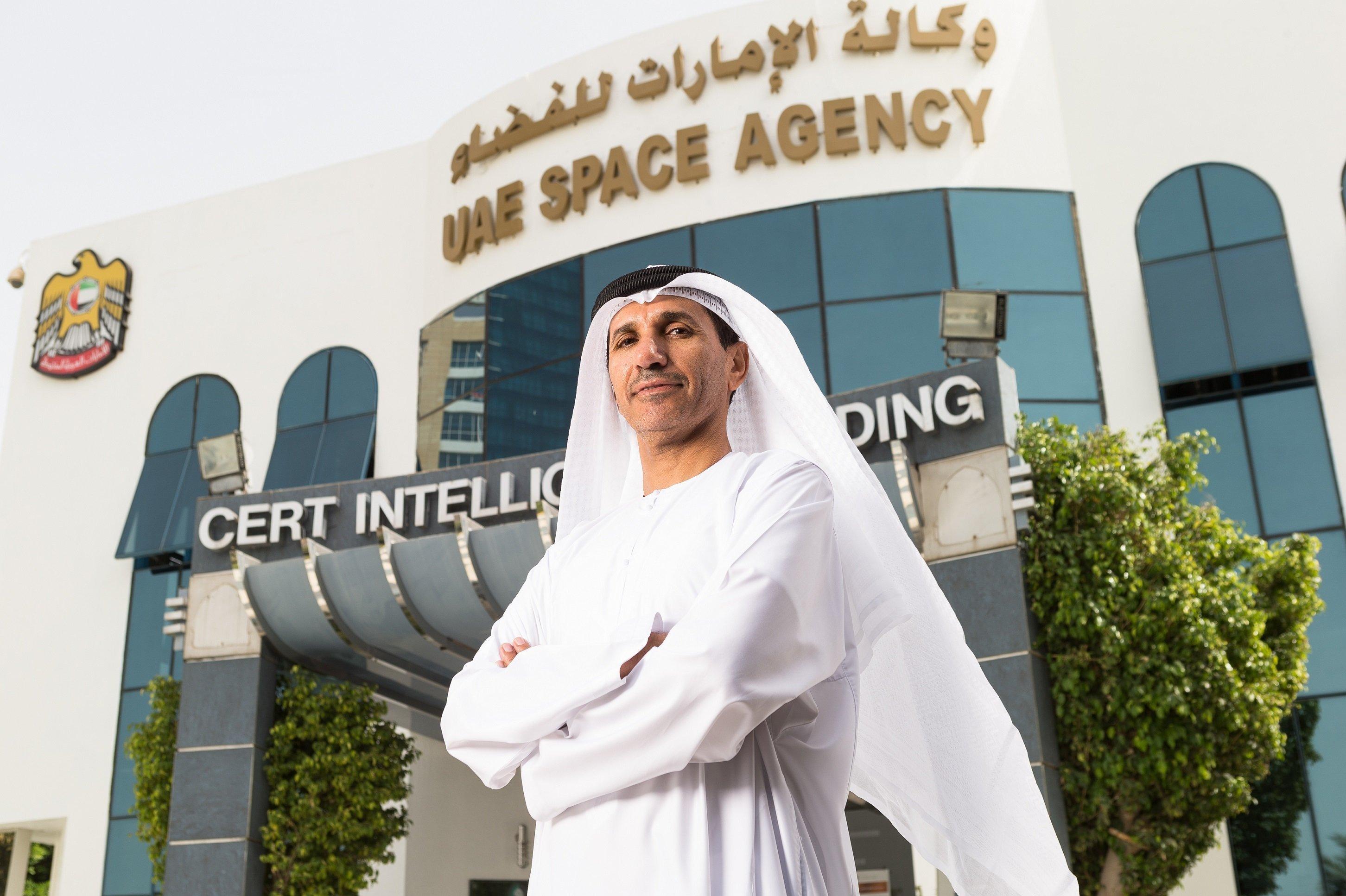 الدكتور المهندس محمد ناصر الأحبابي المدير العام لوكالة الإمارات للفضاء