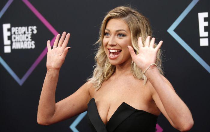 مقدمة البرامج التلفزيونية الأمريكية ستاسي شريودر، تصل إلى حفل توزيع جوائز People's Choice Awards في سانتا مونيكا 11 نوفمبر/ تشرين الثاني 2018