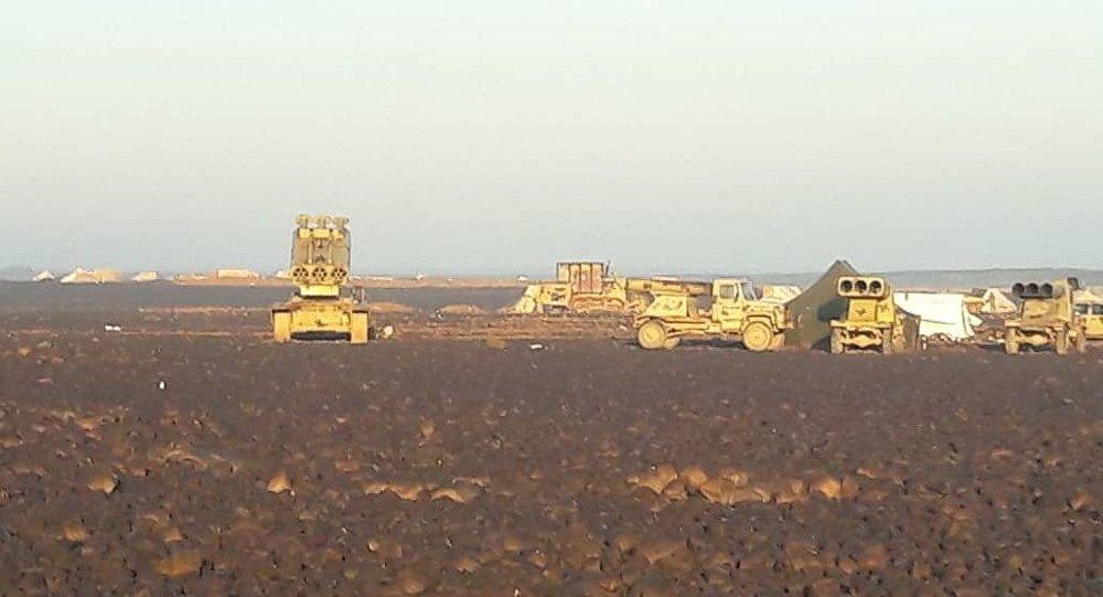 انهيار دفاعات داعش في تلول الصفا تحت ضربات الجيش السوري