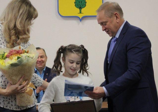الطفلة الروسية، فكتوريا غورباتشوفا