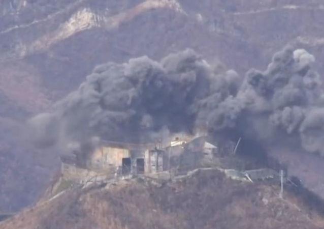 تفجير نقاط أمنية في كوريا الشمالية