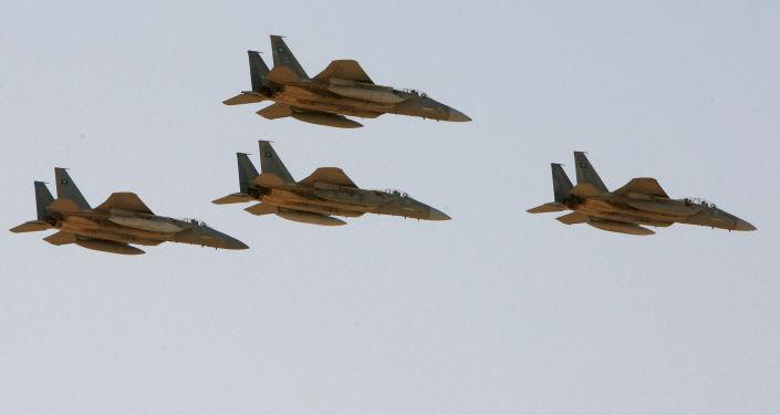 طيران التحالف العربي - مقاتلات إف-15 (F-15) السعودية