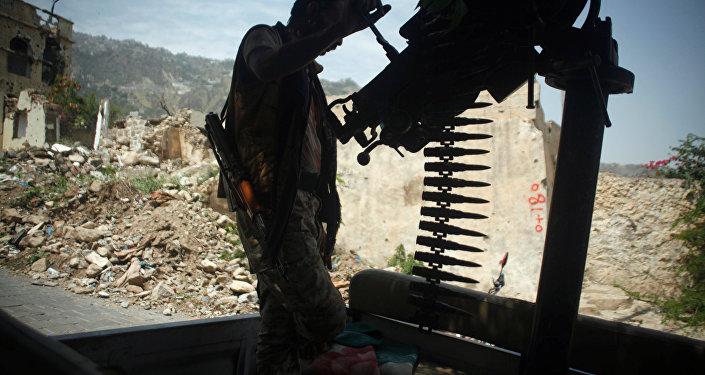 الجيش اليمني - القوات اليمنية في تعز، اليمن أغسطس/ آب 2018