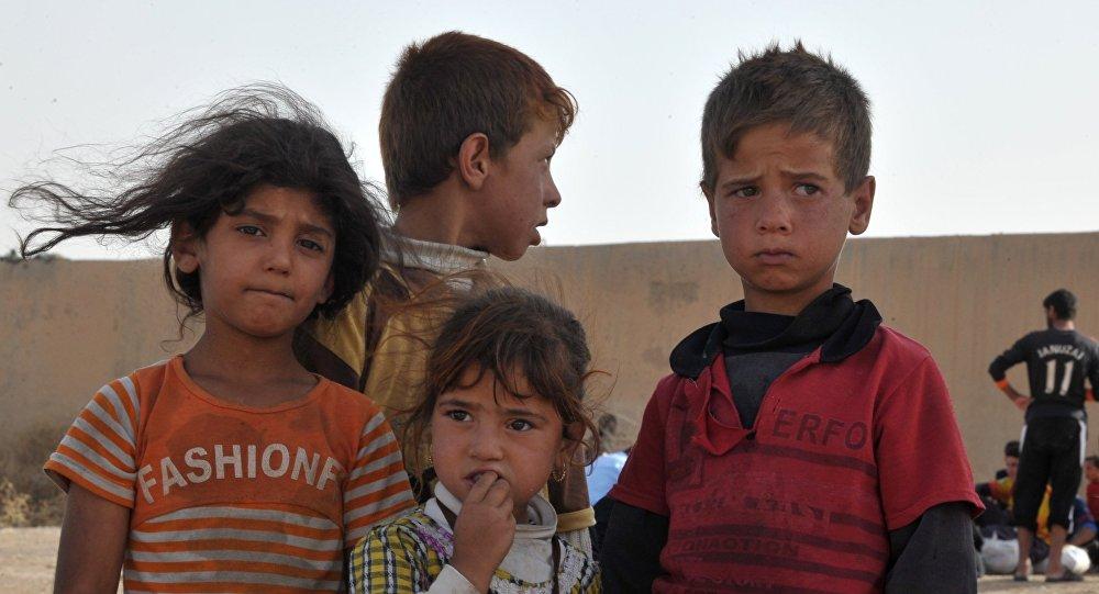أطفال العراق الهاربين من داعش