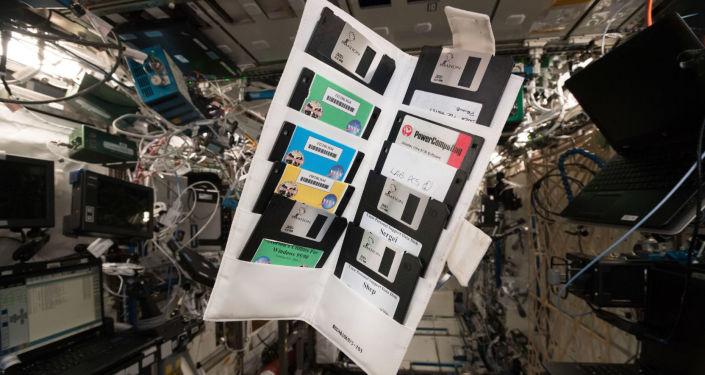 أقراص التخزين التي تم العثور عليها في محطة الفضاء الدولية