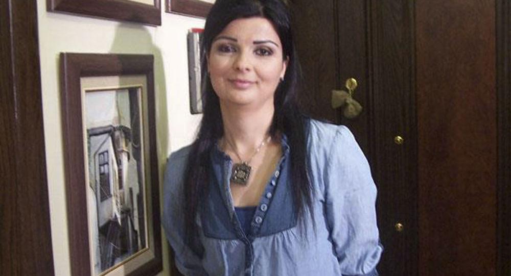 الفنانة السورية رباب كنعان